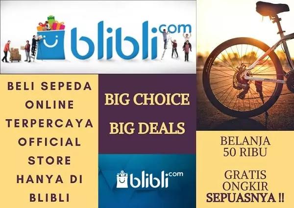 Beli Sepeda Online Terpercaya Official Store Hanya Di Blibli