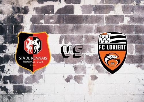 Rennes vs Lorient  Resumen