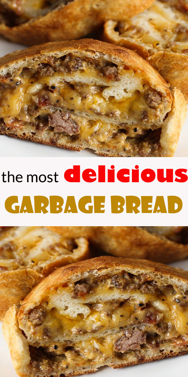 the most delicious Garbage Bread #themost #delicious #Garbage #Bread #themostdeliciousGarbageBread