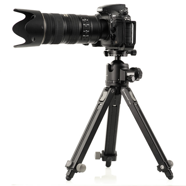 Sunwayfoto T1A20 w/ XB-52DDH and Nikon D810 w/ 70-200 VR II