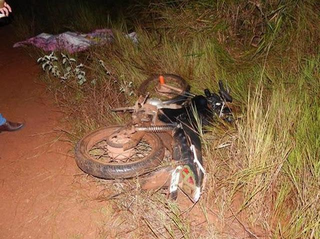 Colisão entre duas motos deixa um jovem de 19 anos morto em Parecis, RO