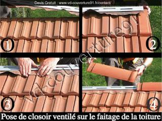 faitage de toit