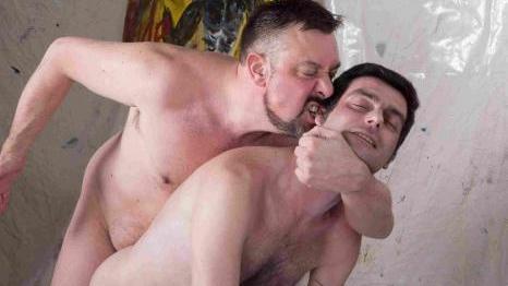 Jack Hardy and Alberto Huby (Bareback)