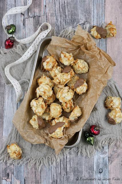 Marzipankugeln | Weihnachtsbäckerei | Plätzchen | Backen | Kekse | Weihnachten