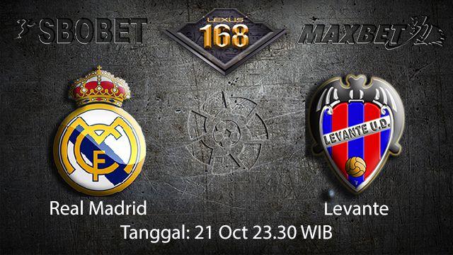Prediksi Bola Jitu Real Madrid vs Levante 21 September 2018 ( Spanish La Liga )