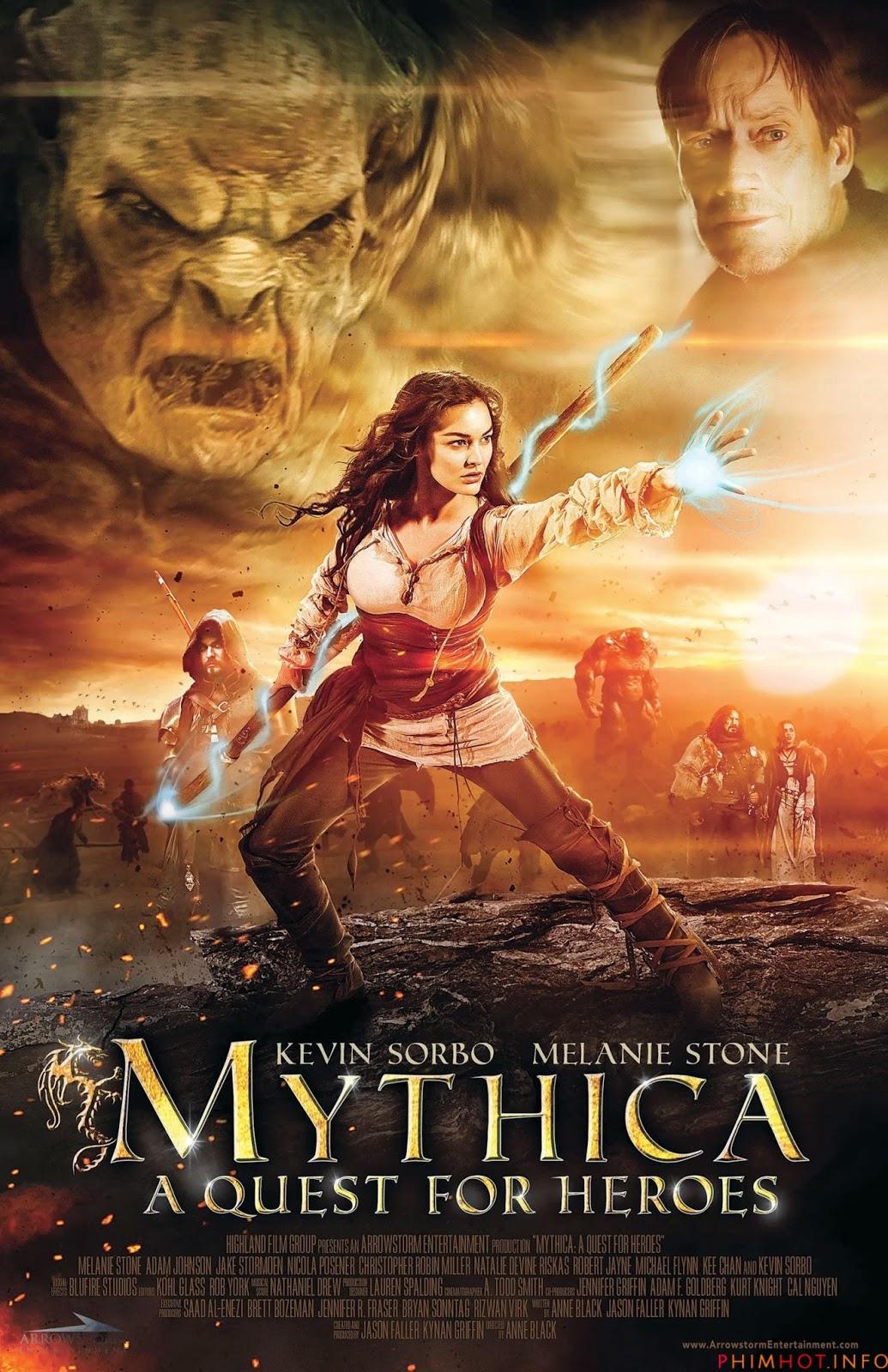 Mythica: A Quest for Heroes ศึกเวทย์มนต์พิทักษ์แดนมหัศจรรย์ [HD][พากย์ไทย]