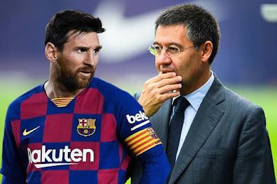 Messi ngừng gia hạn Barca: Tuyên chiến Chủ tịch Bartomeu, muốn người cũ lật ghế
