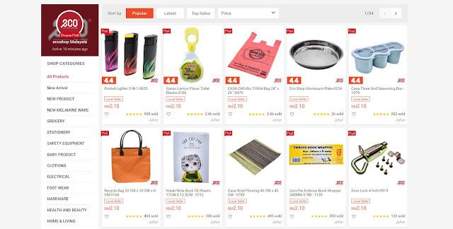 eco shop shopee