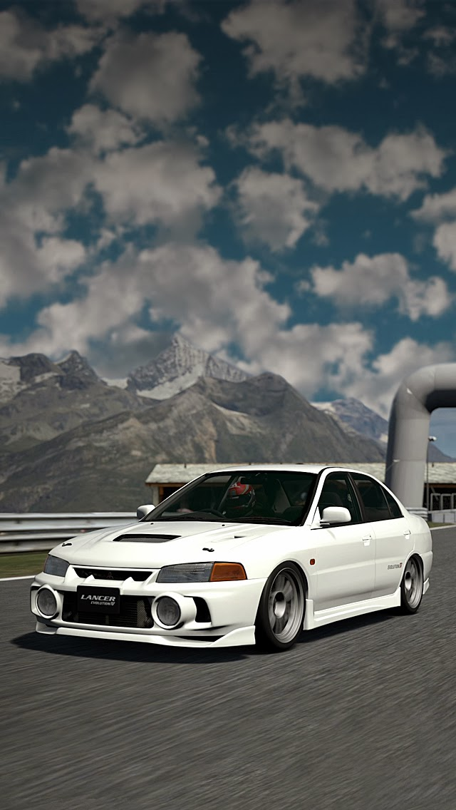 #iPhone Retina #Wallpapers for iPhone 5/5C/5S/6/6Plus: Mitsubishi EVO V