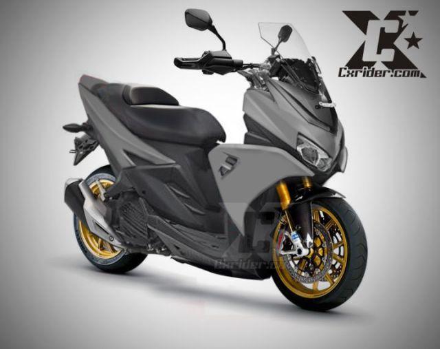 Kelebihan dan Kekurangan Motor Matic Yamaha Aerox 125 LC