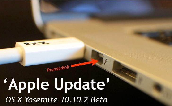 Apple OS X Yosemite 10.10.2 Update to Patch years-old Thunderstrike vulnerability