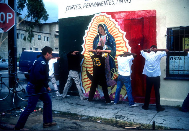 Fotografías de las bandas callejeras de Los Ángeles
