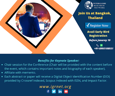 February Conferences, International Conferences, Bangkok Conferences, Thailand Conferences, IGRNet Conferences, Meetings, Events