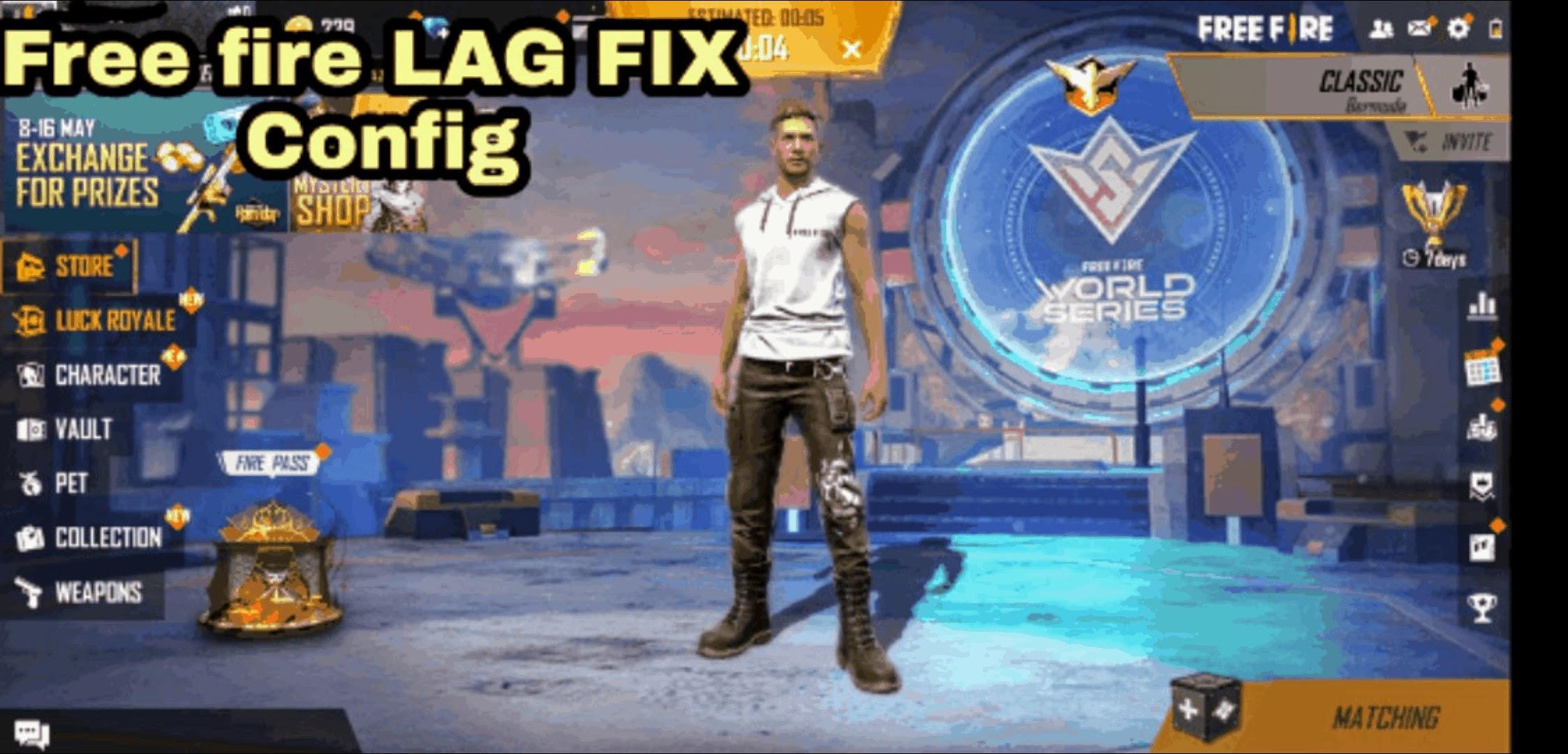 Free fire config file 1.60.6 | LAG FIX | 60 FPS | 1GB/2GB/3GB/4GB RAM