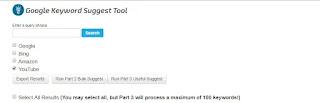 SEO chart YouTube keyword researching tool