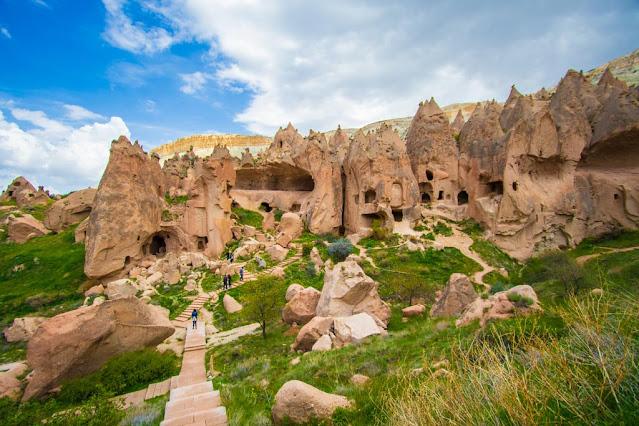Museo a cielo aperto di Zelve-Open air museum-Zelve-Cappadocia