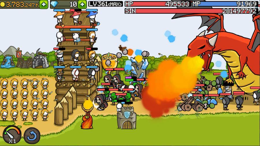 download Grow Castle Mod Apk 3