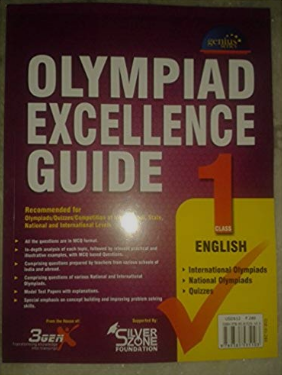 Olympiad Books for Class 1 : Excellence Guide for English