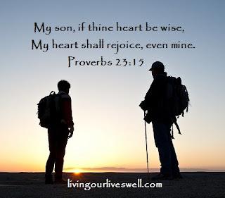 Proverbs 23:15