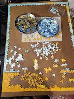 puzzle los girasoles