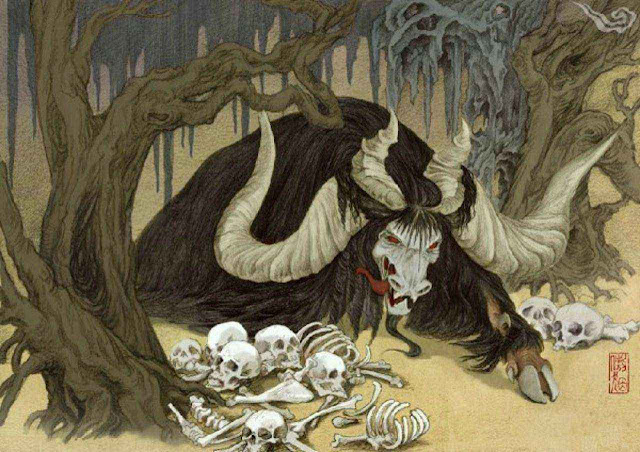 Ly kỳ những Thần thú thời thượng cổ (P2): Loài thân ngựa đầu rồng, loài 6 chân 4 cánh