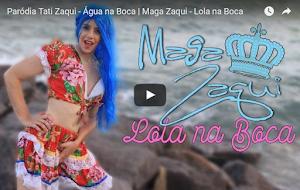 Sucesso 'Água na Boca' de Tati Zaqui ganha paródia 'Lola na Boca'