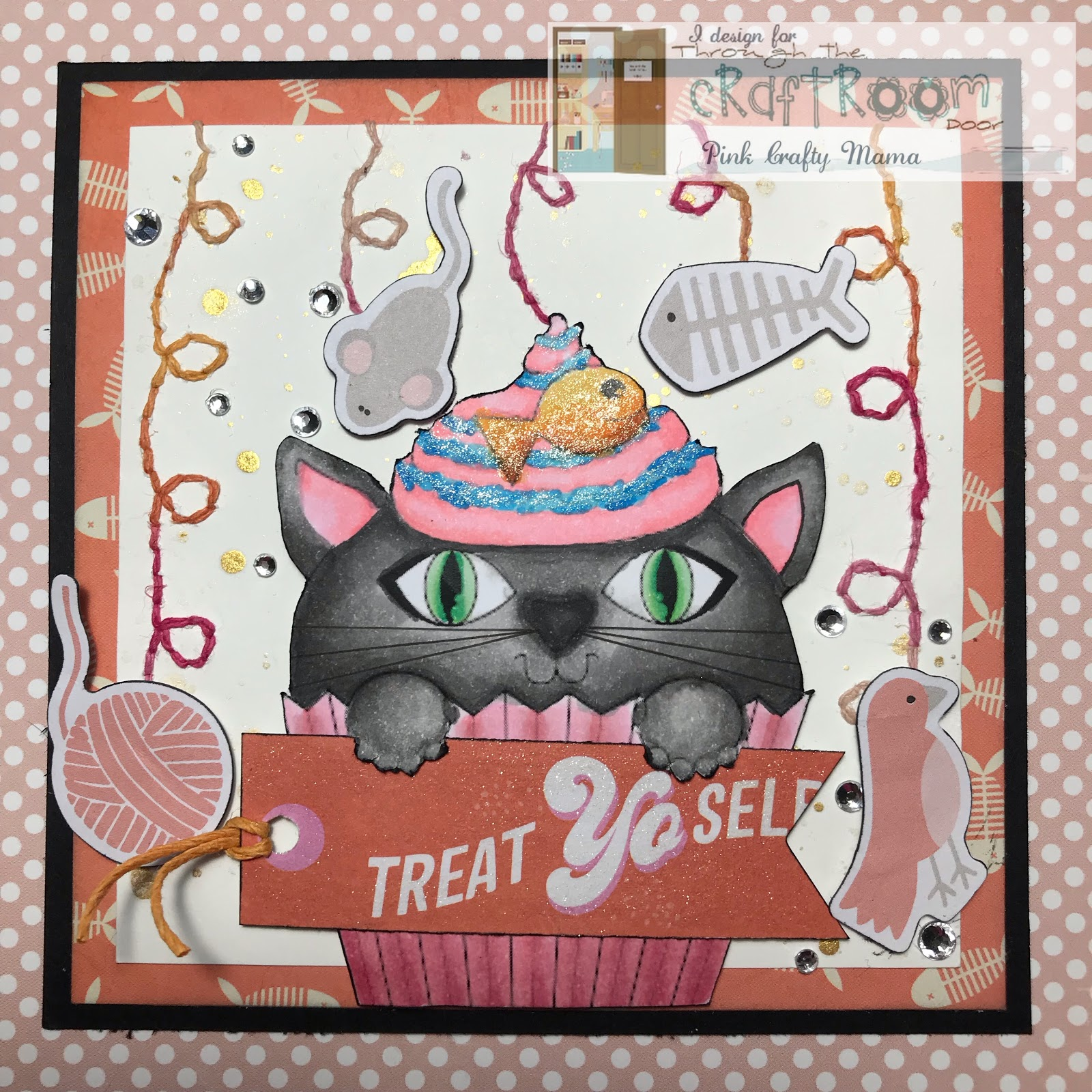 780573127 Pink Crafty Mama: TTCRD 16 July DT Project