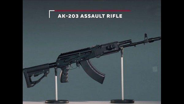 AK-47 203 rifles