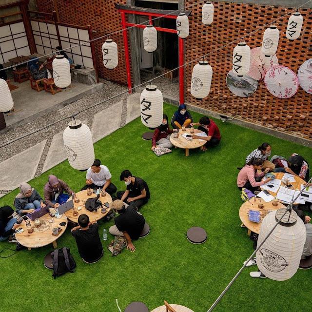 Cafe Taketama Coffee Bar Sidoarjo