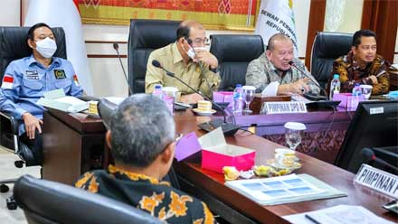 PURT DPD RI Bahas Refocusing Anggaran