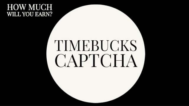 how to make money from timebucks captcha