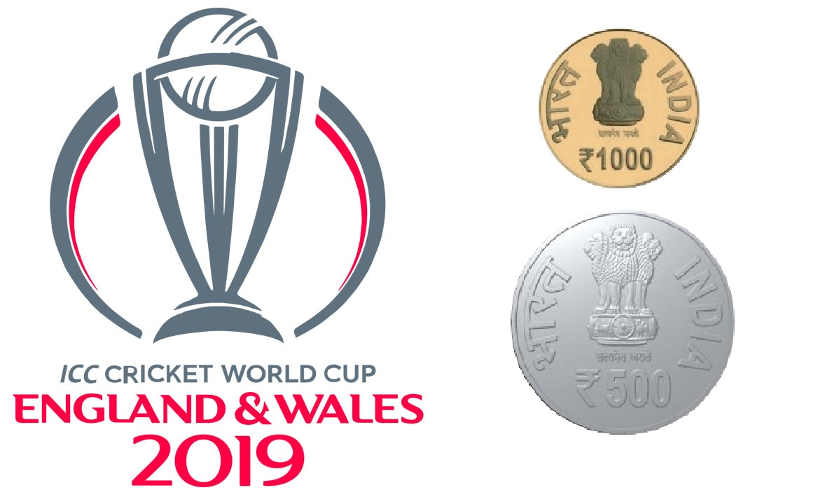 Image result for indian-government-will-launch-gold-and-silver-coin-of-1000-and-500-for-icc-world-cup
