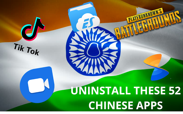 Uninstall These 52 Chinese Apps!!!Please Uninstall It!!!