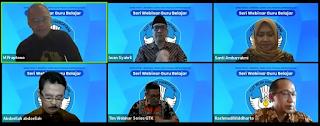Materi Persiapan Mental dan Desain Pembelajaran Jadi Materi GTK Dikdas Pada 'Seri Webinar Guru Belajar'