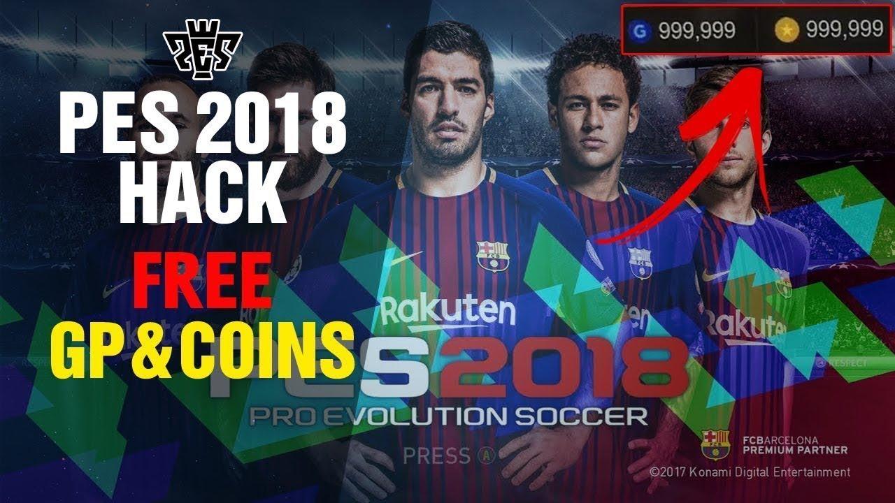 pes 2018 hack version game download