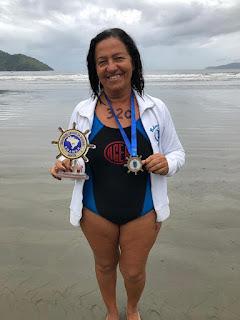 Nadadora da ACER é destaque no Circuito Paulista de Natação Master