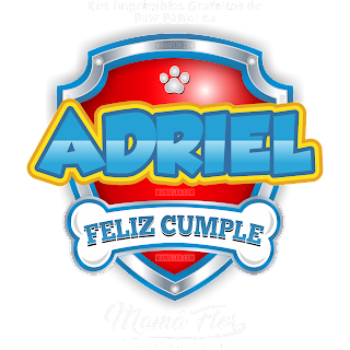 Logo de Paw Patrol: ADRIEL