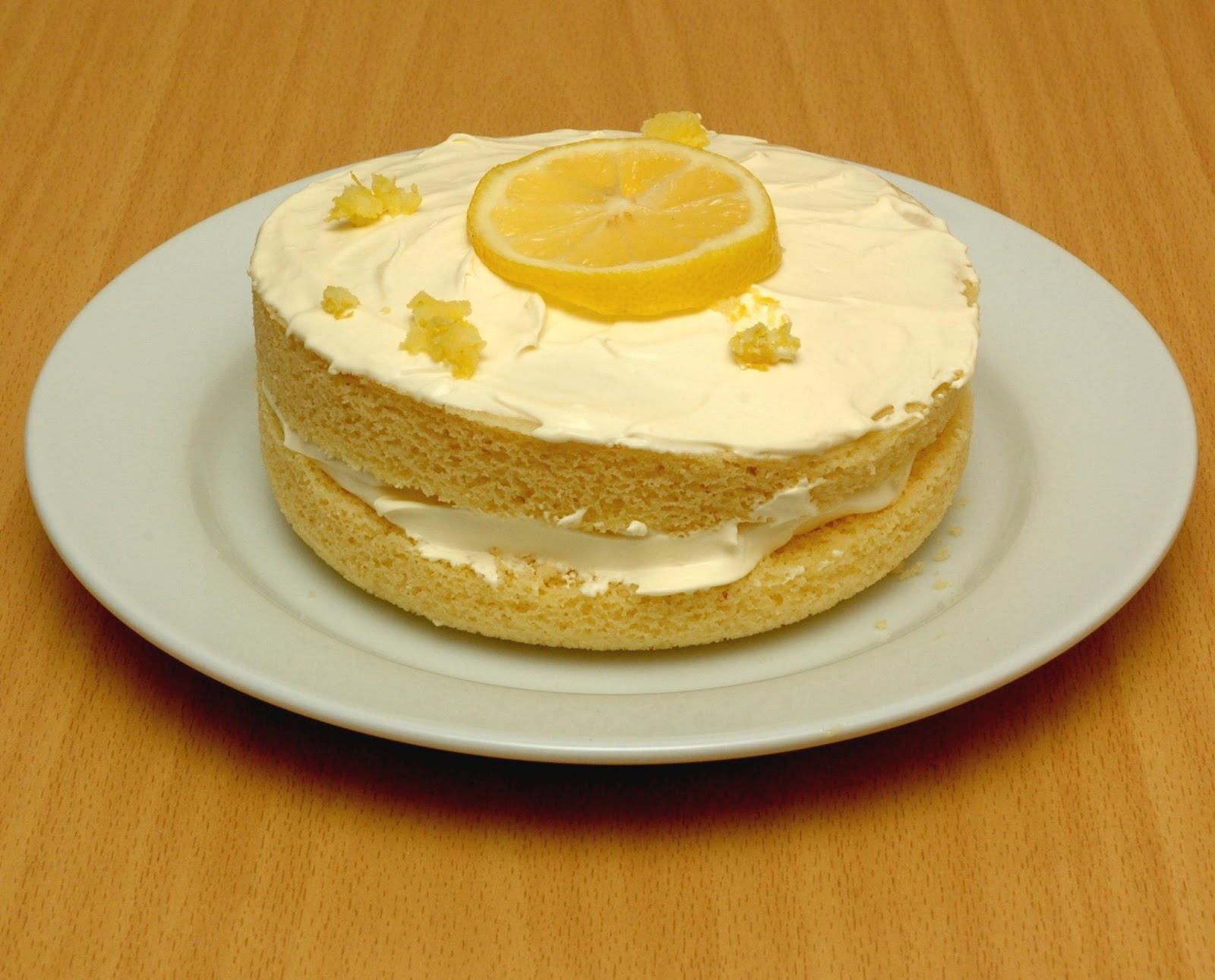 The Low Carb Diabetic: Lowcarb Lemon Sponge Cake