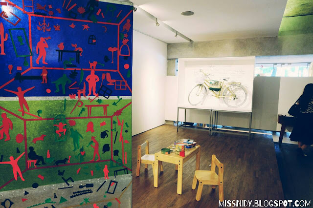 pameran seni di dia.lo.gue art space kemang