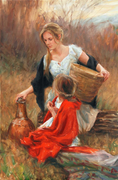 Beautiful Painting Child