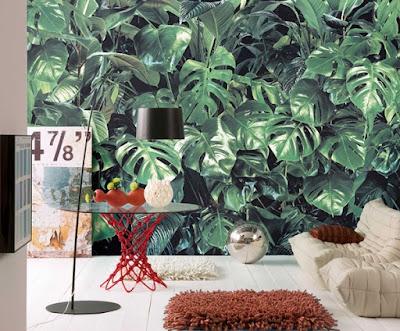 Fotomural Naturaleza Hojas Tropicales - 8-333 Verdure