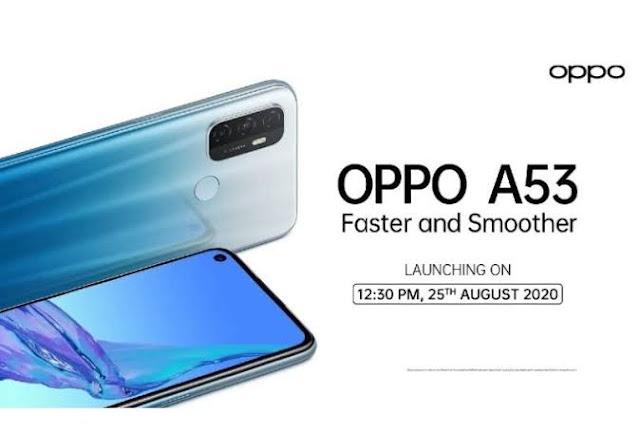 Spesifikasi dan Harga HP Oppo A53 Terbaru