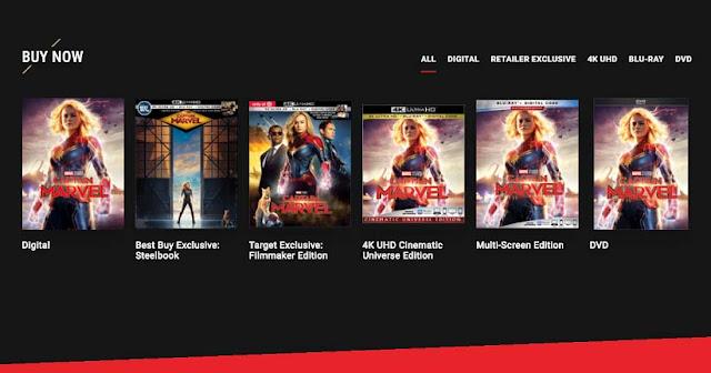 CD Movie Captain Marvel