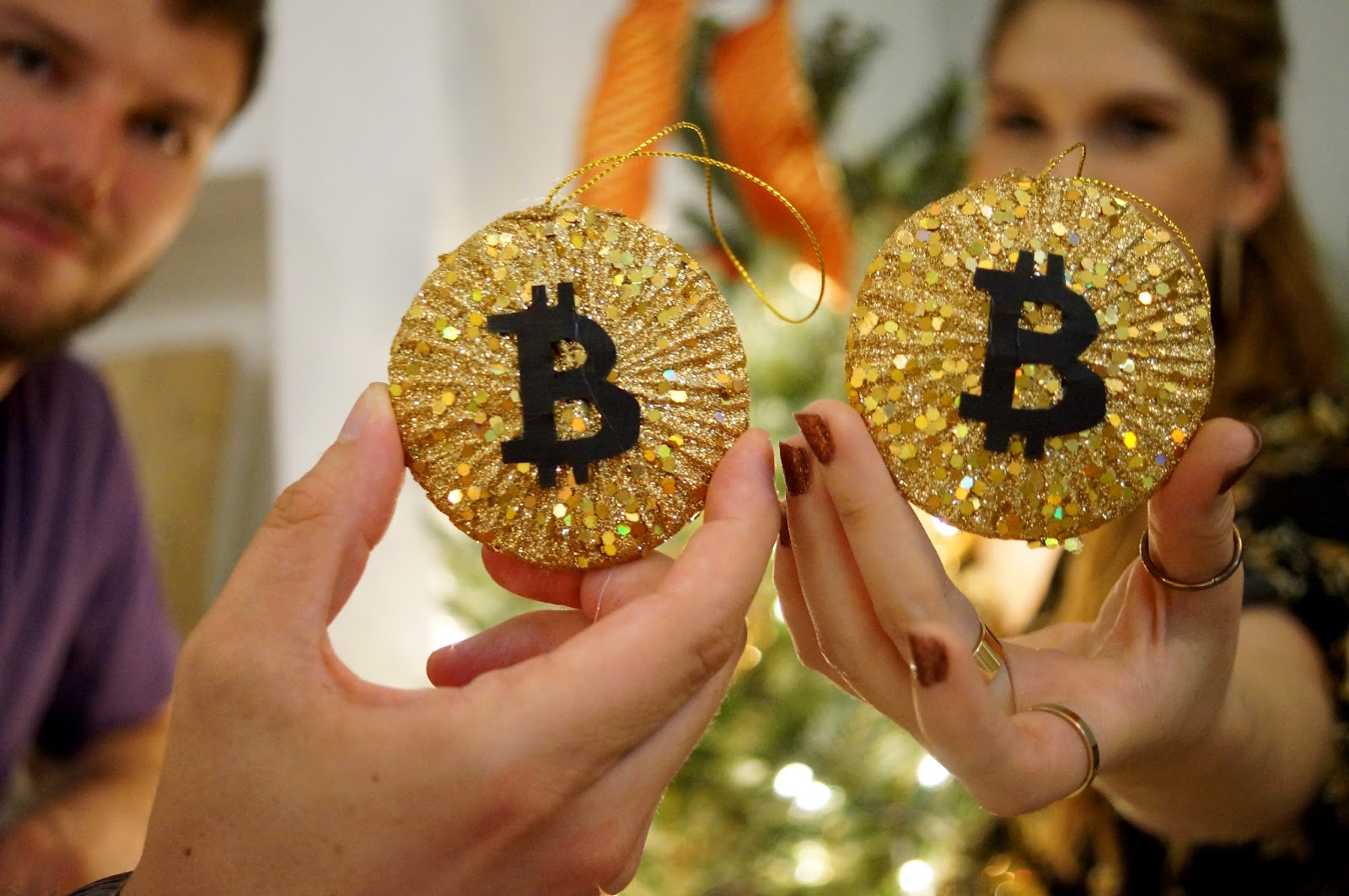 Bitcoin Christmas Tree