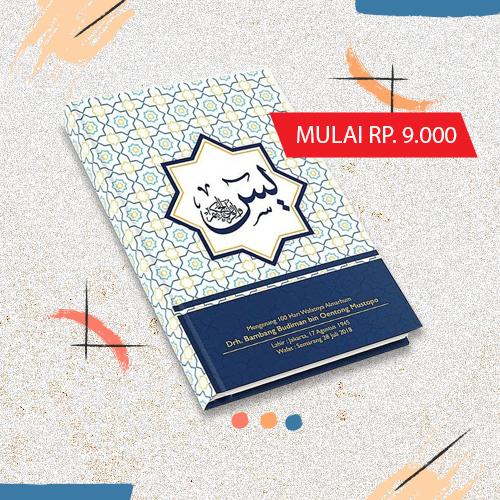 Buku Yasin Murah 9.000/Buku