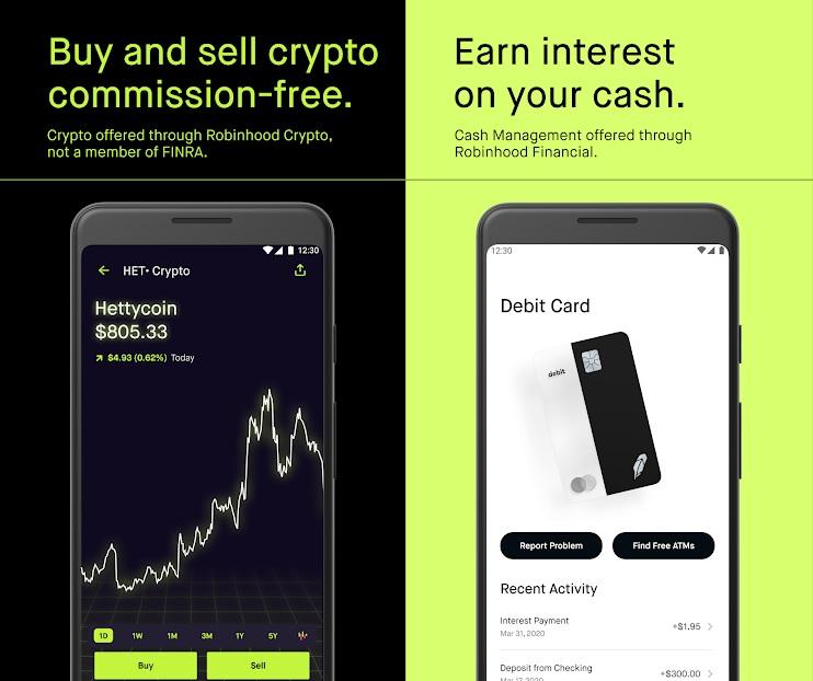 Online Trading Platform : Robinhood App : Commission-free Investment & Trading.
