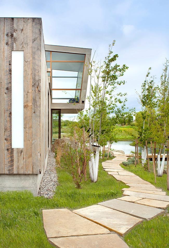 Estilo rustico casa rustica y moderna for Casa moderna rustica