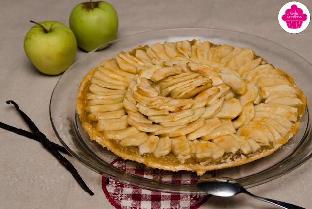 Tarte fine aux pommes: pâte sablée
