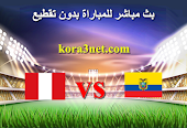 بث مباشر مباراة الاكوادور وبيرو اليوم 23-6-2021 كوبا امريكا 2021