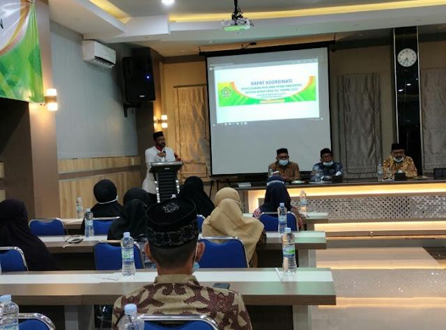 Kakankemenag Bireuen Buka RKA-SK Kemenag Pidie Jaya